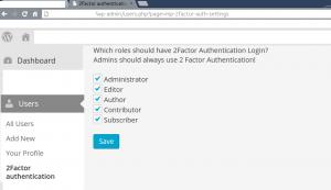 """Dit is de admin pagina (onder gebruikers""""om de 2 factor per gebruikersrol aan en uit te zetten"""